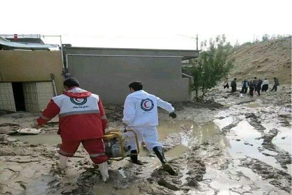 امدادرسانی به ۱۶ هزار هموطن گرفتار سیلاب