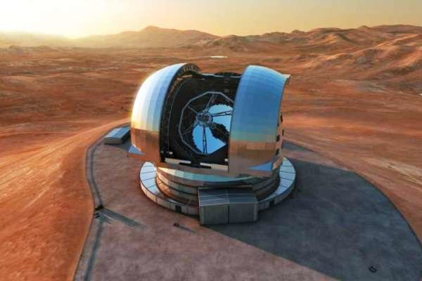 کلنگ ساخت نخستین سوپرتلسکوپ جهان زده شد