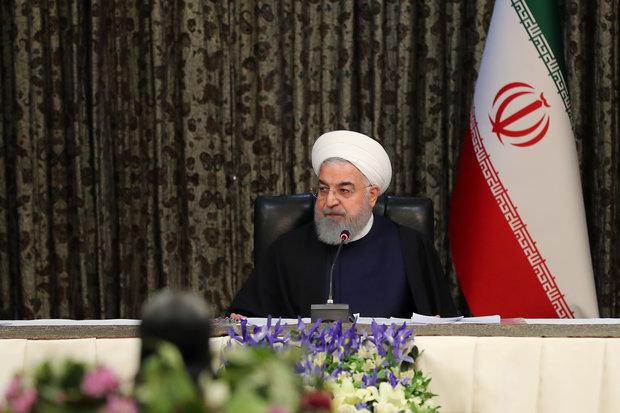 روحانی: در شرایط عادی نیستیم، در شرایط جنگ روانی و اقتصادی قرار داریم