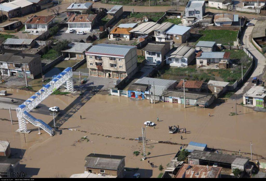 بار دیگر آب به بخشی از شهر آققلا رسید