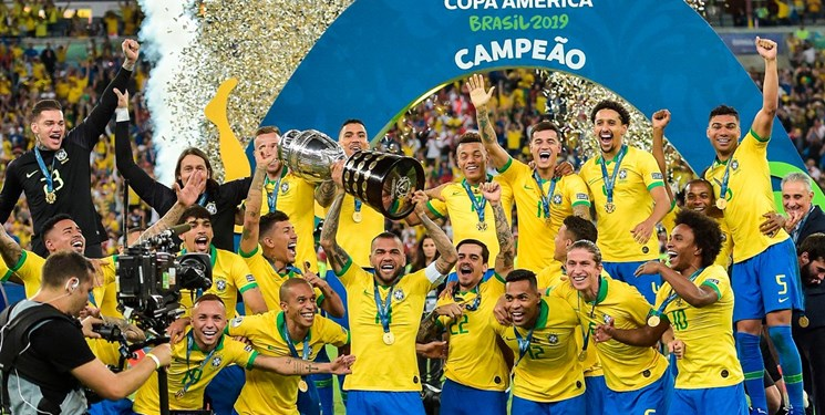 برزیل قهرمان کوپا امریکا شد