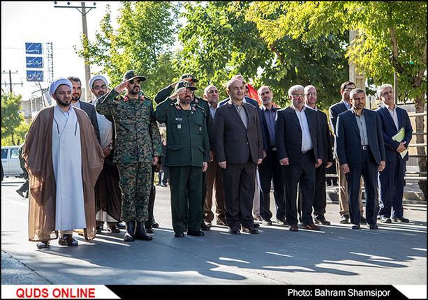 مراسم رژه نیرو های مسلح در شهرکرد/گزارش تصویری