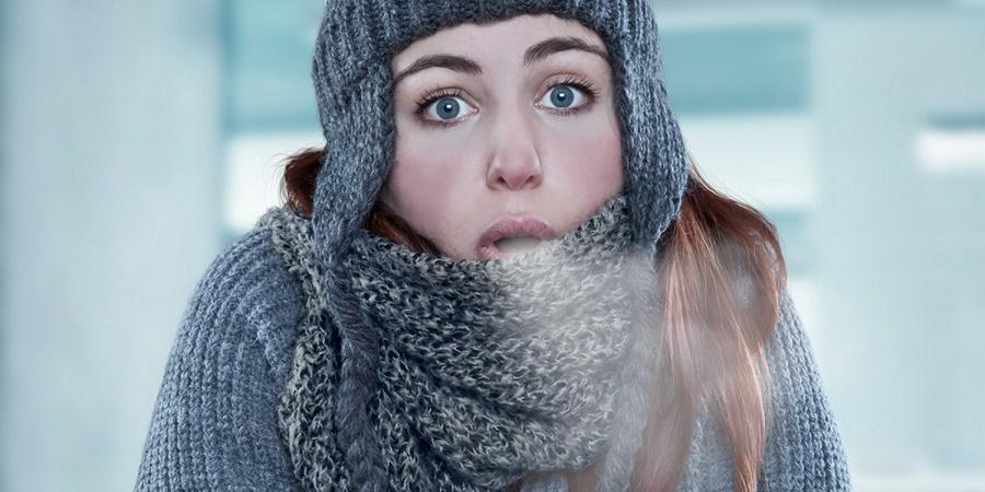 چرا بعضی ها همیشه سردشان است؟