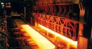 میزان تولید فولاد در کشور