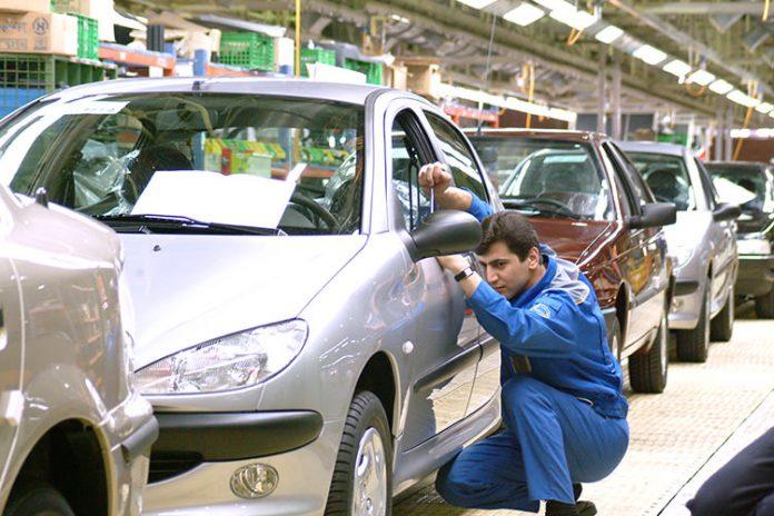 میزان تولید خودرو در کشور