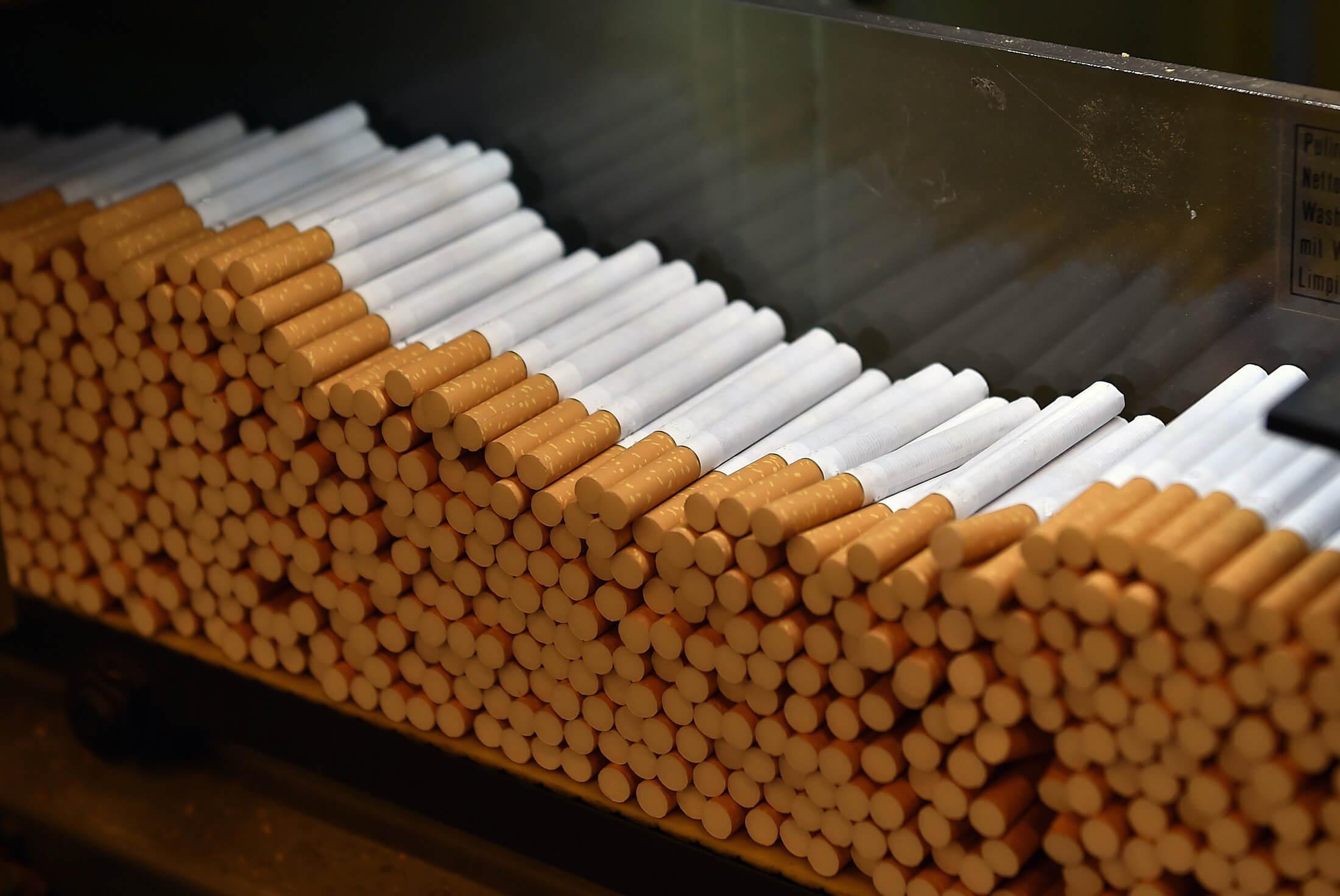 تولید سیگار- روند بازار