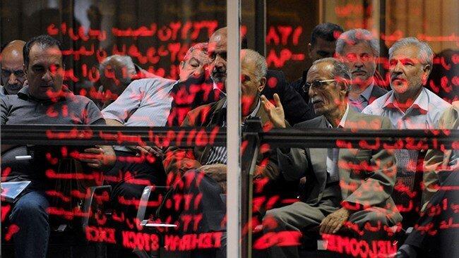 کاهش شاخص بورس تهران