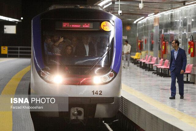 بهره برداری از ۶ ایستگاه مترو تهران تا پایان سال