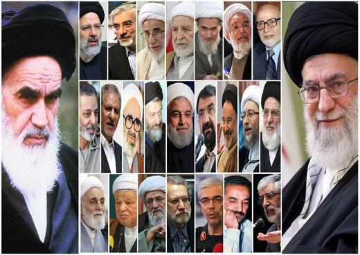 مقامات بلندپایه ایران اهل کدام شهر هستند؟
