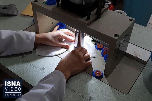 ابریشم بهترین ماده برای تولید ماسکهای خانگی