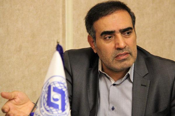 بهمن عبداللهی رئیس اتاق تعاون ایران