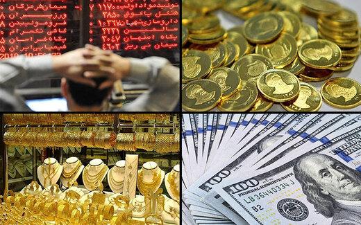 روند-بازارهای-طلا-سکه-دلار -بورس