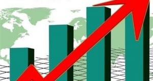 رشد شاخص کل بورس اوراق بهادار تهران