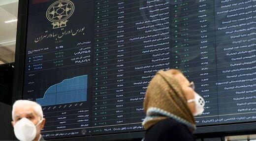 معاملات در بازار بورس تهران