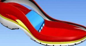 کفش ورزشی با مکانیزم هیدرولیکی