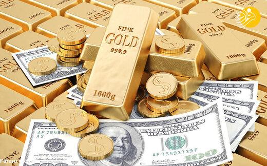 روند بازار؛ نرخ ارز، دلار، سکه، طلا و یورو در بازار تهران