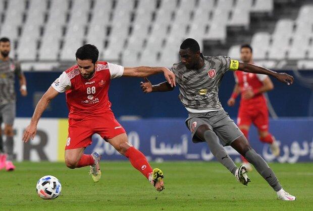 کلید پیروزی پرسپولیس برابر نماینده امارات