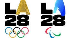 لوگوی بازیهای المپیک و پارالمپیک لسآنجلس ۲۰۲۸