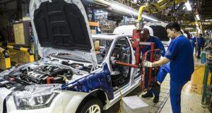 ایران خودرو- تولید خودرو