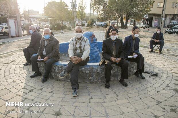 بازنشستگان- ماسک