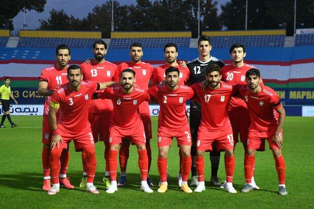 تیم ملی فوتبال در رده بندی جهانی صعود کرد