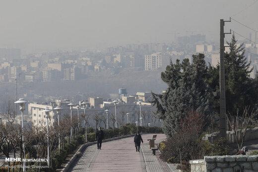 اعلام آلودهترین مناطق تهران