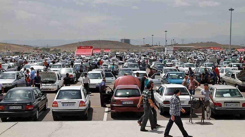 روند بازار خودرو؛ کاهش ۱ تا ۱۰۰ میلیونی قیمت ها