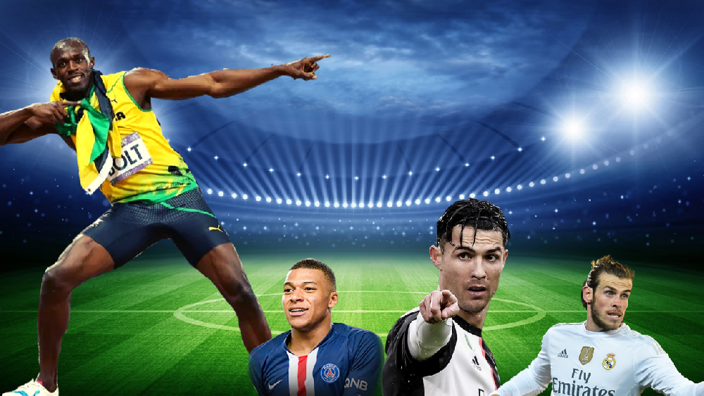 سریع ترین فوتبالیست های حال حاضر جهان به انتخاب اوسین بولت