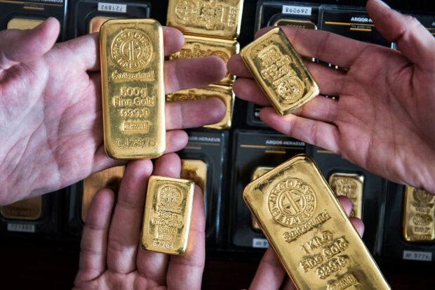 قیمت جهانی طلا به بالاترین سطح ۸ هفتهای رسید