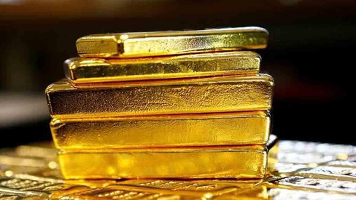 قیمت جهانی طلا در پایان معاملات هفته افت کرد