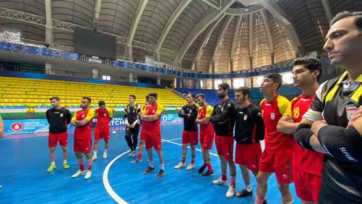 تیم ملی فوتسال ایران در آخرین رنکینگ هفتگی در جایگاه اول آسیا و ششم جهان قرار دارد.