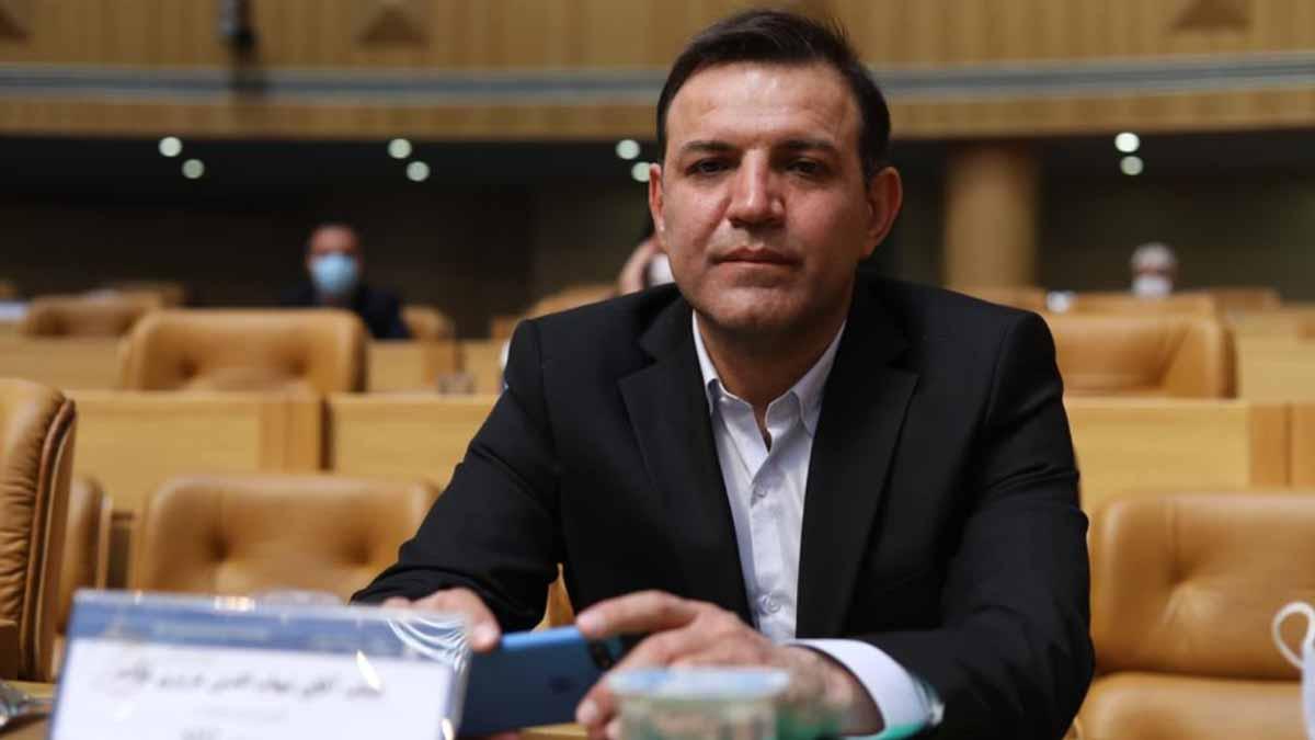 شهاب الدین عزیزی خادم رئیس فدراسیون فوتبال ایران شد