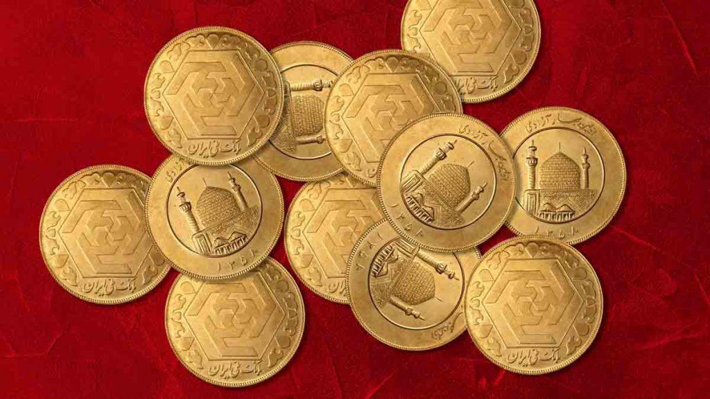 قیمت سکه طلا طرح جدید ۲۷ بهمن ۱۳۹۹