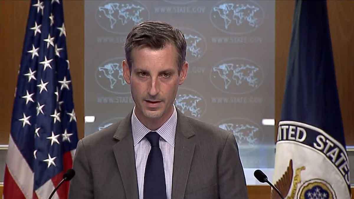 سخنگوی وزارت خارجه آمریکا مدعی لغو تحریم های ثانویه شد