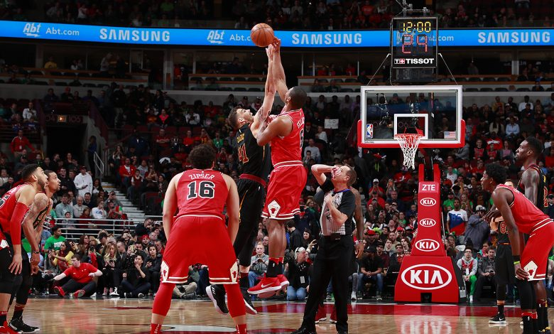 پرتاب توپ جالب و دیدنی در بسکتبال