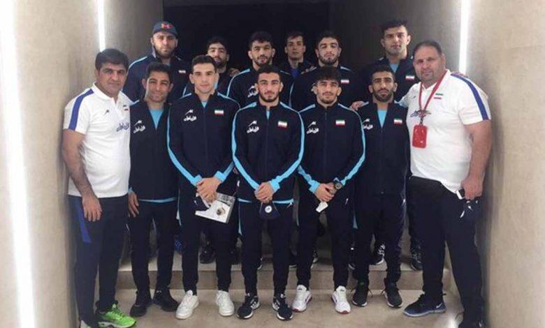 تیم ایران با کسب ۸ مدال قهرمان کشتی آزاد آسیا شد