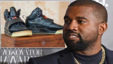 کفش های ورزشی کانیه وست رکورد گرانقیمت ترین کفش جهان را می شکند