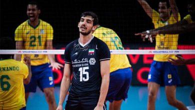 شکست تیم ملی ایران برابر برزیل
