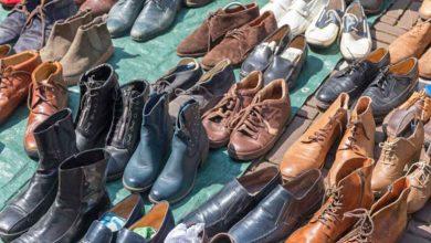 بازار جهانی کفش های دست دوم در حال افزایش است