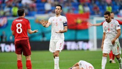 برد اسپانیا مقابل سوئیس در ضربات پنالتی