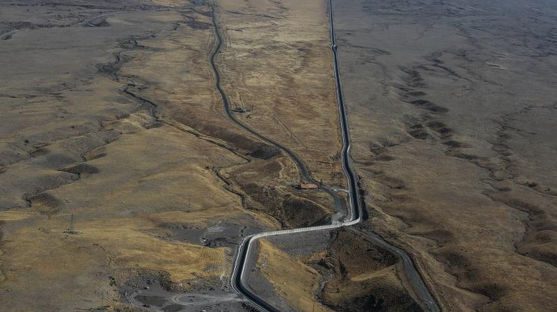 دیوار مرزی ایران و ترکیه، فعلا تنها ۸۱ کیلومتر از مرز ۵۳۴ کیلومتری دو کشور را تحت پوشش قرار میدهد.