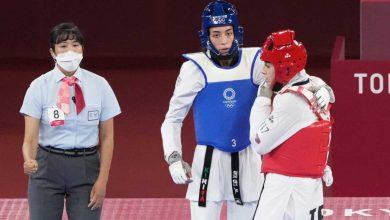کیمیا علیزاده در نیمه نهایی المپیک
