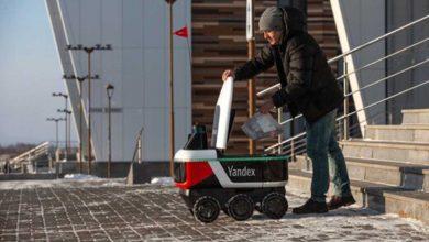 پیکهای نامهرسان رباتیک در روسیه